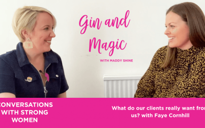 What do our clients really want from us? with Faye Cornhill